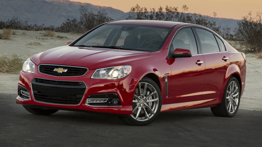 Chevy will kill off the SS sedan this year
