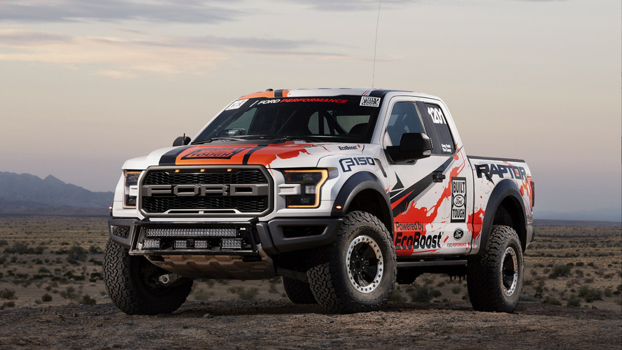 2017 Ford F-150 Raptor for Baja 1000 is basically stock