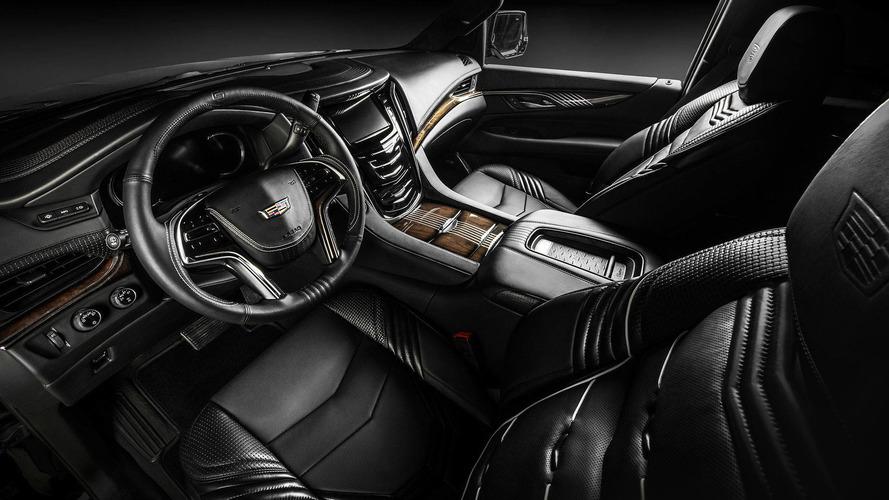 Cadillac Escalade interior by Carlex Design takes luxury up a notch