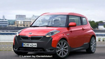 Mini Planning New Small City Car Concept for Frankfurt