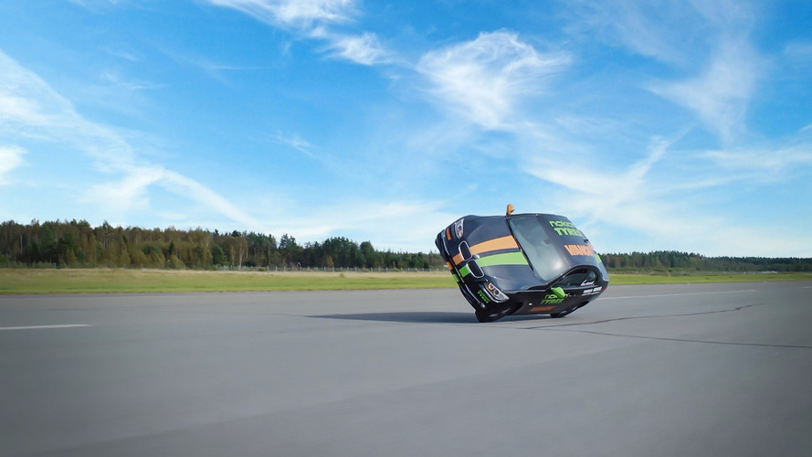Crazy Finns set world record for fastest 'side wheelie'