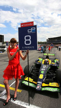 Portugal driver on pole for Campos seat