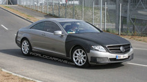 Mercedes S-Class Coupe Caught Testing Again