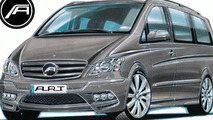 Mercedes Viano tuning previewed by A.R.T.