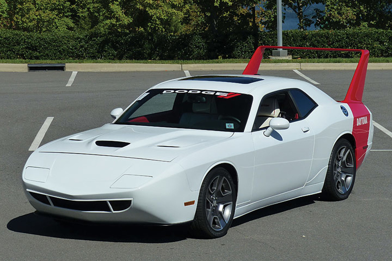 Lift Off! Custom Dodge Challenger Daytona Soars to Auction