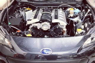 Subaru BRZ Given 400 HP Pontiac V8