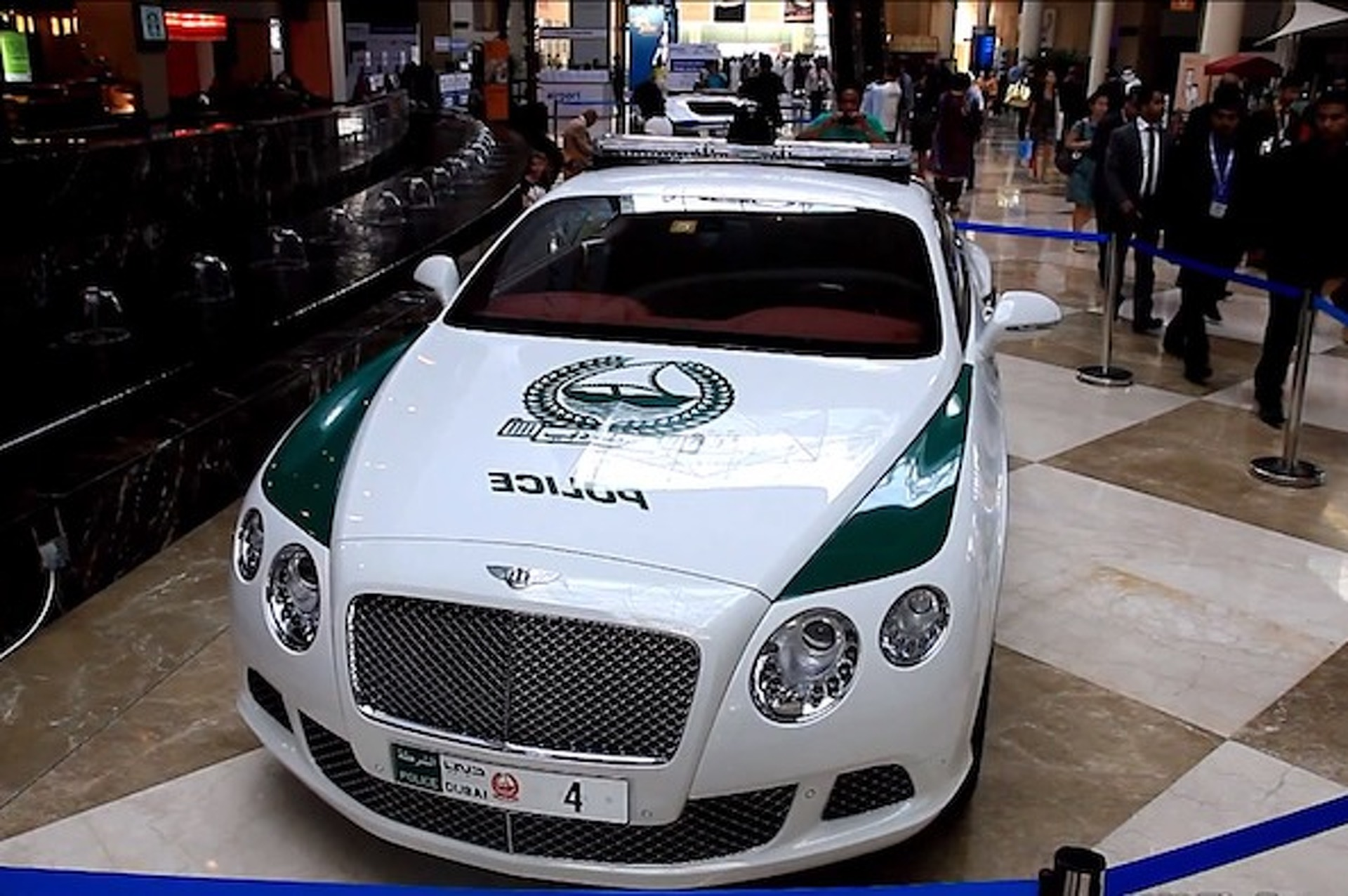 The Many Rides of the Dubai Police Department