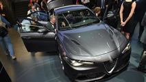 307 km/h Alfa Romeo Giulia Quadrifoglio live from IAA; lapped 'Ring in 7:39