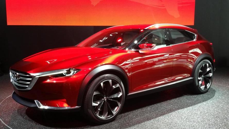 Mazda KOERU concept bows in Frankfurt