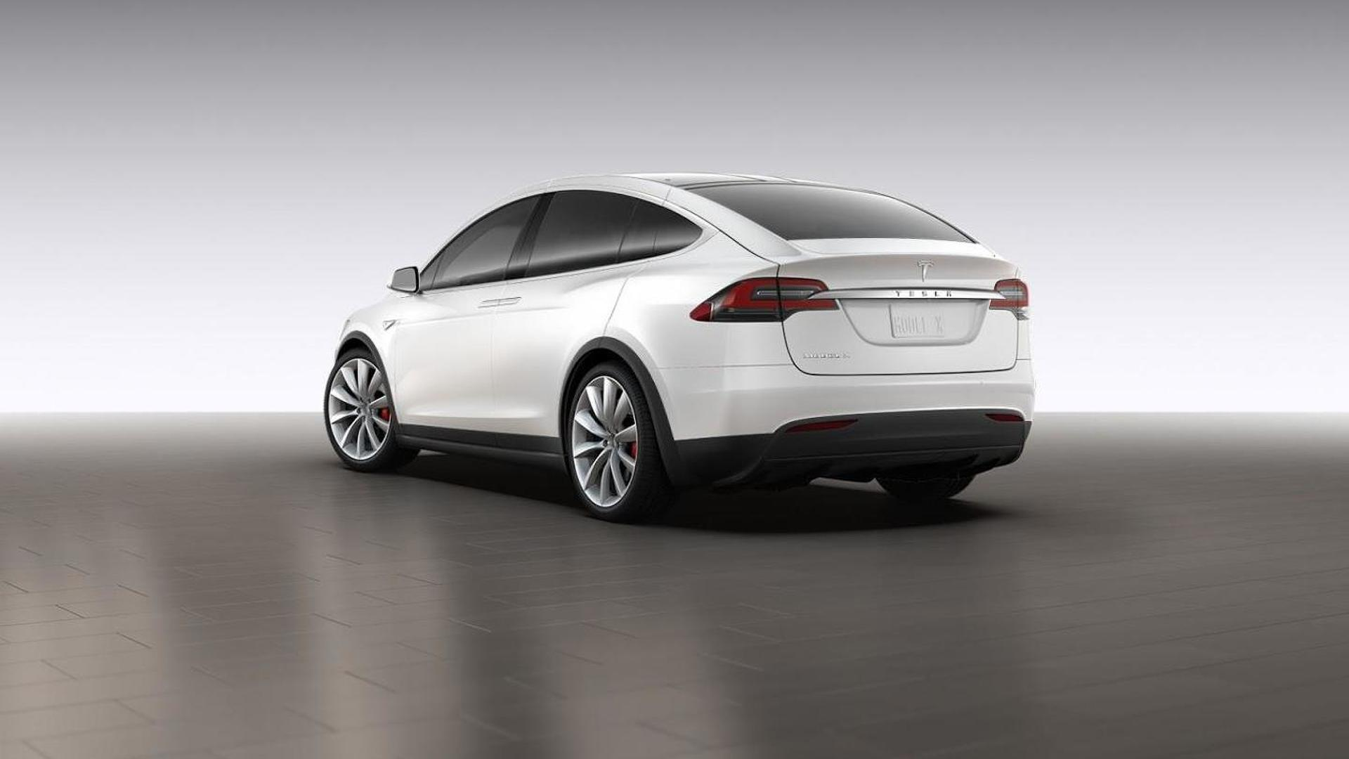 Production Tesla Model X first pictures emerge