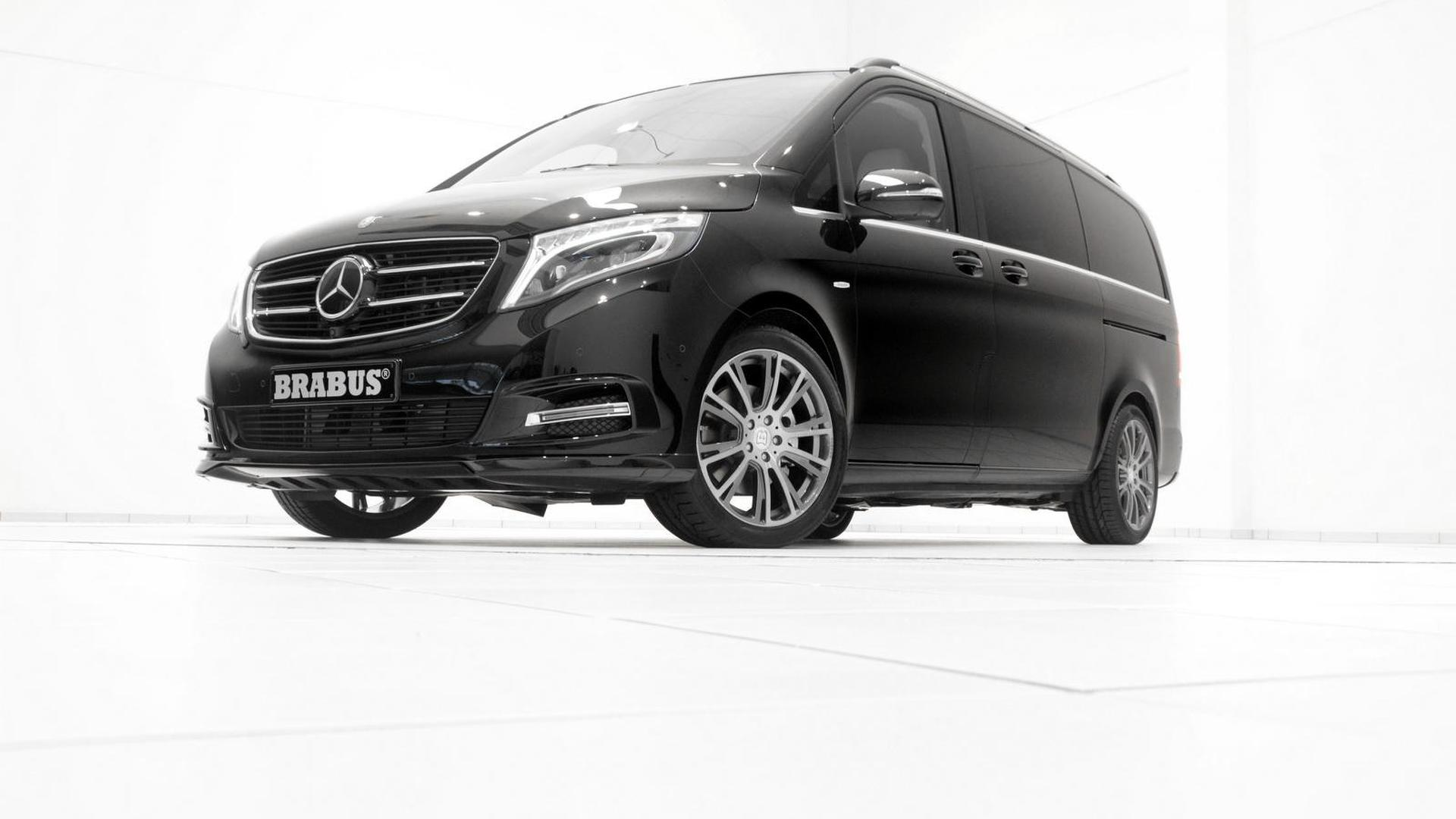 Brabus tunes the Mercedes V-Class