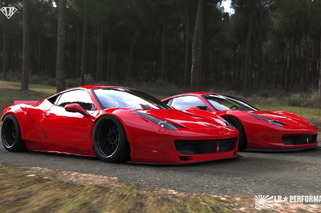 LB Performance Slams and Glams Up the Ferrari 458