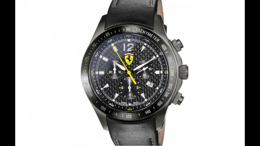 Ferrari cria relógio de fibra de carbono