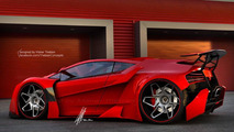 Lamborghini Sinistro render 20.06.2013
