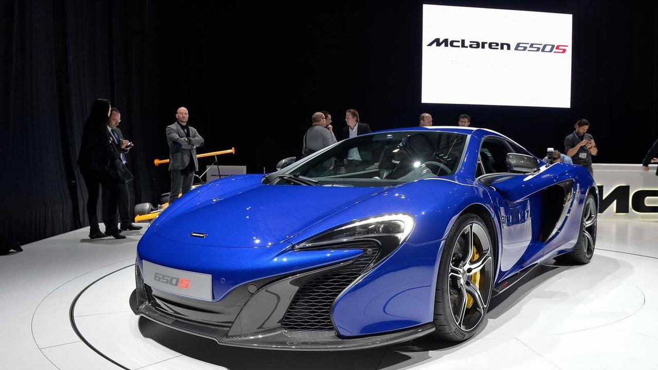 McLaren 650S Coupe world debut
