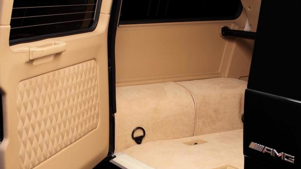 Mercedes-Benz G65 AMG by Hamann with TopCar crocodile leather interior 09.08.2013