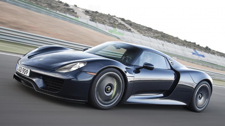 Porsche 918 Spyder recalled for seatbelt fasteners