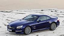 Multi-spoke wheels for Mercedes-Benz SL-Class