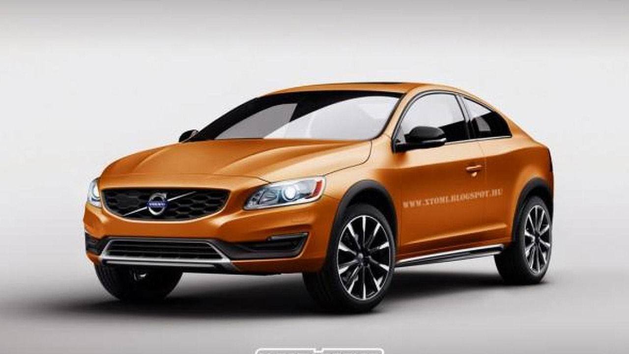Volvo S60 Cross Country coupe rendering / X-Tomi