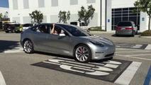 Tesla Model 3 prototype caught on video strutting its stuff