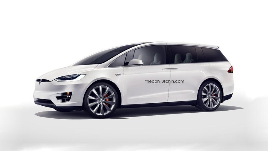 Tesla minivan concept looks like the coolest family hauler around