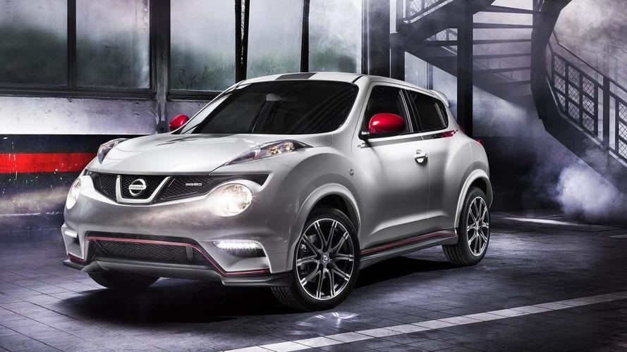 Nissan Juke Nismo production version revealed