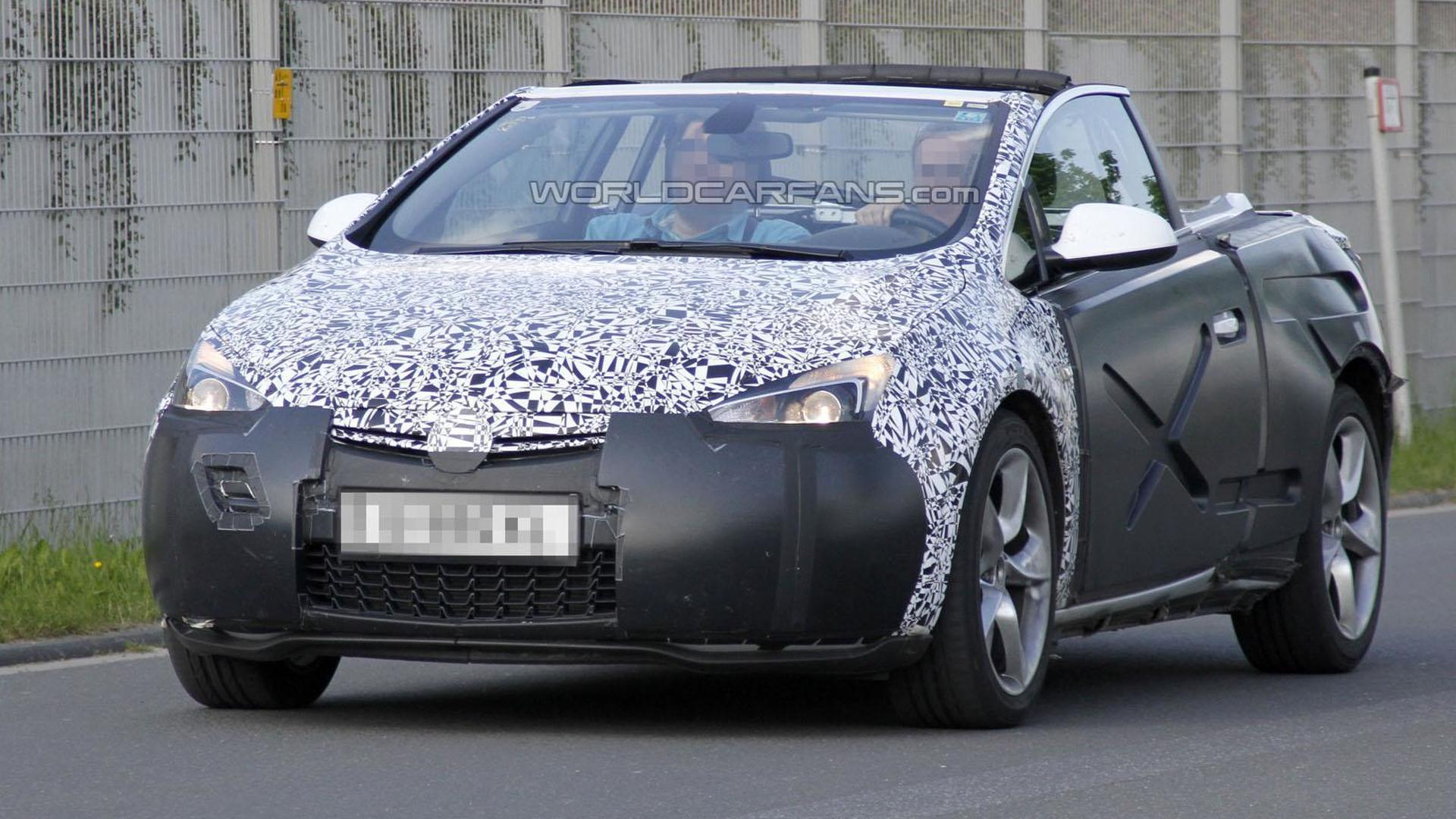 2013 Opel / Vauxhall Astra Cabrio caught topless