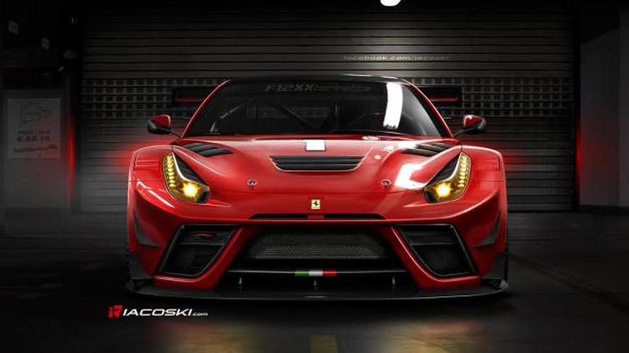 Ferrari F12XX Berlinetta rendered