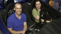 David Walter and co-pilot Peta