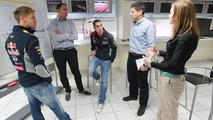 Sebastian Vettel testing Infiniti models at Paul Ricard 28.5.2013