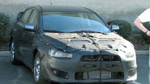 SPY PHOTOS: Mitsubishi Evolution X