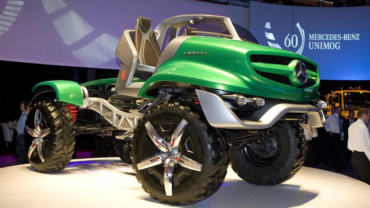 60 Years Mercedes-Benz Unimog deisgn concept 07.06.2011