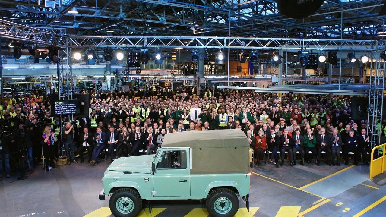 Final Land Rover Defender