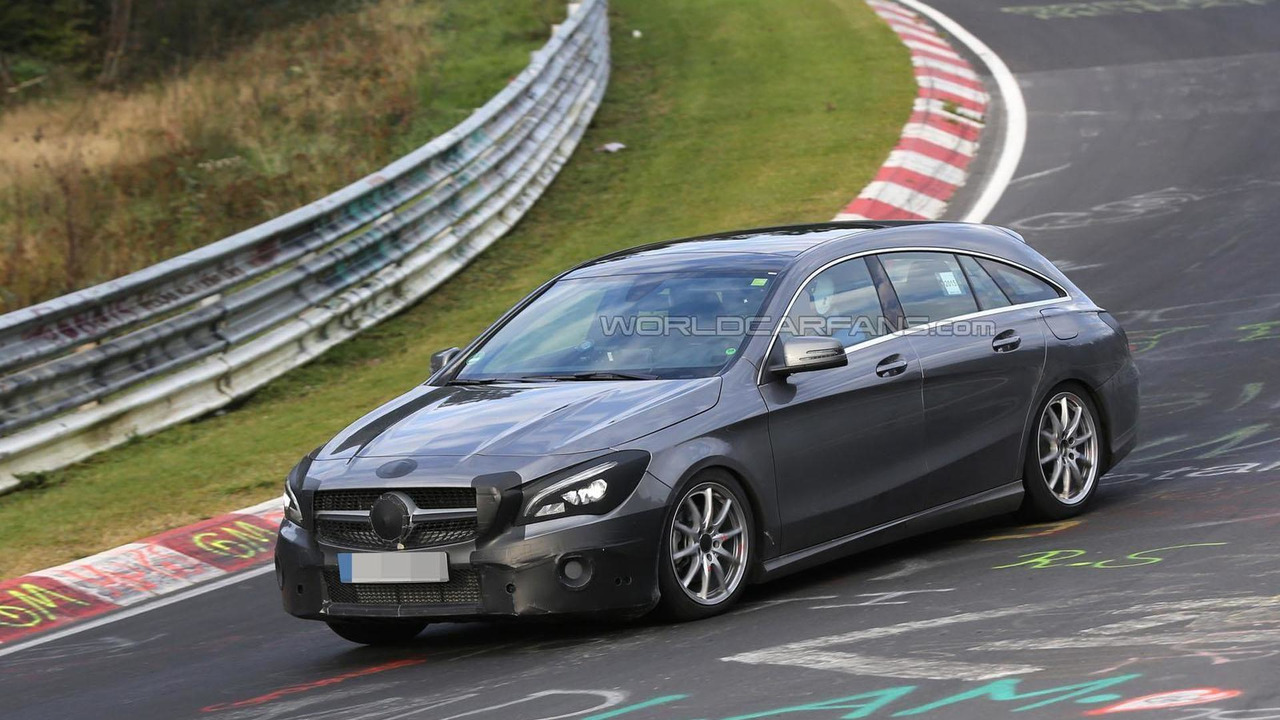 2016 Mercedes CLA Shooting Brake spy photo