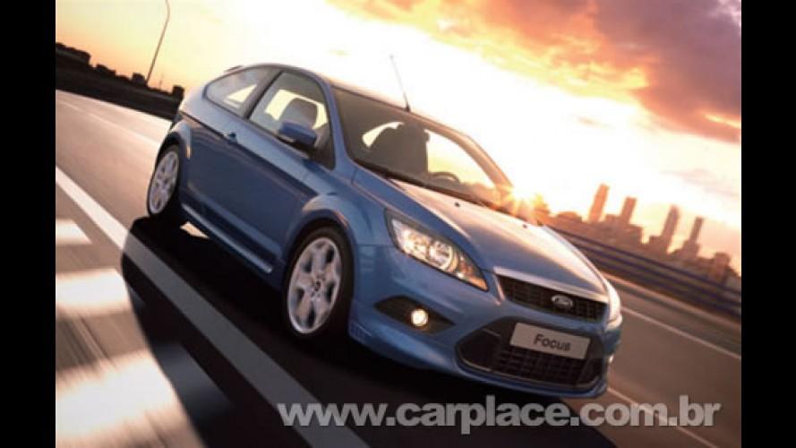 Novo Focus com motor 1.6 Flex deve chegar em maio de 2009 por R$ 49 mil