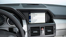 Mercedes iPhone Cradle Allows full Integration