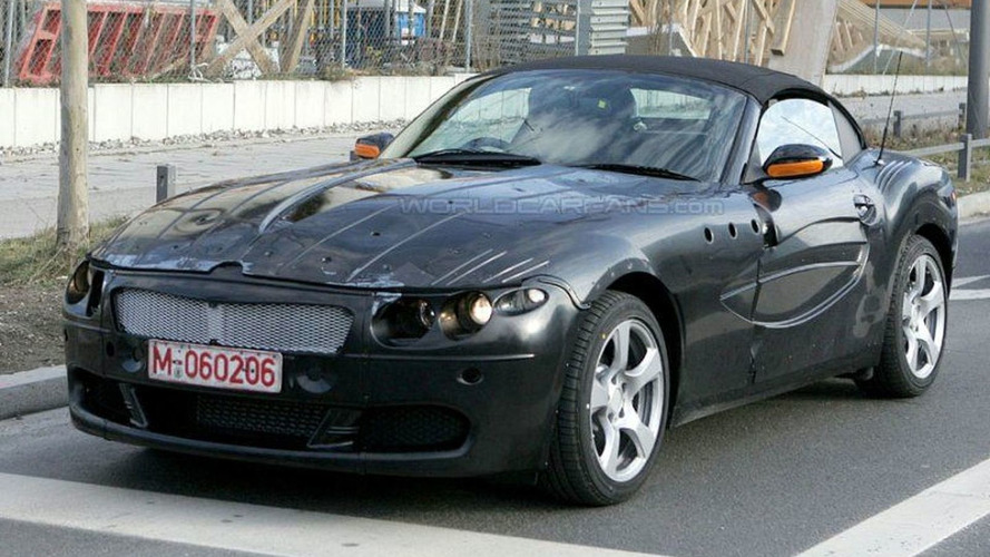 SPY PHOTOS: More BMW Z9