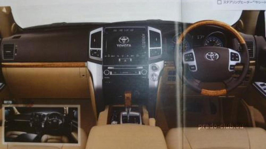Toyota Land Cruiser facelift leaked?