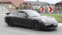 Hotter Porsche 911 spied 21.09.2011