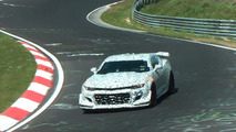 Watch the next-gen Chevy Camaro Z/28 test at the 'Ring