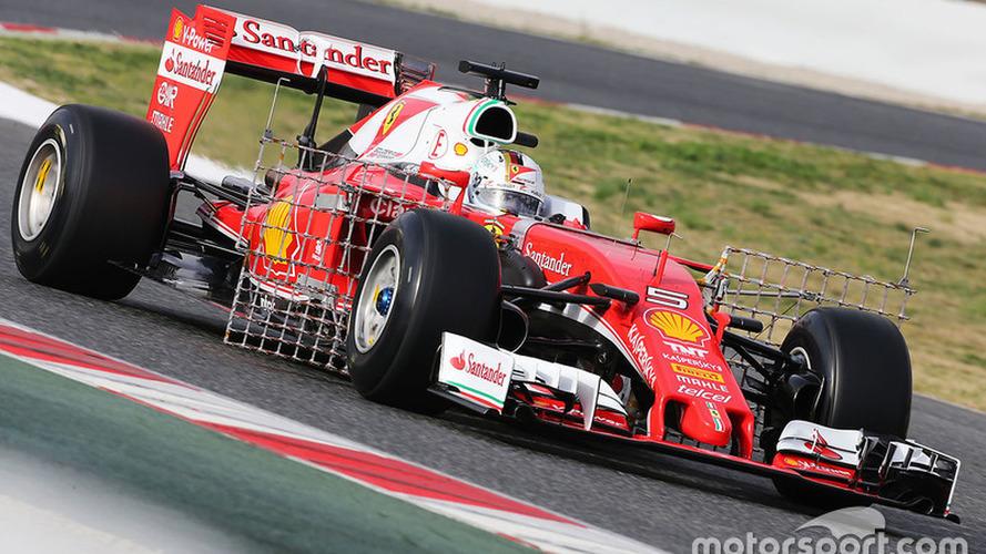 Vettel leads opening morning of Barcelona F1 test