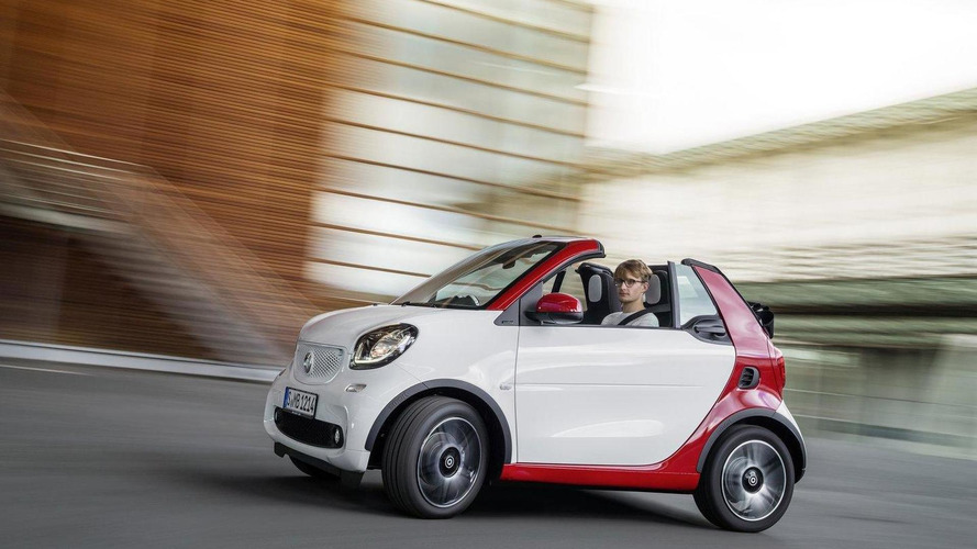 New Smart Fortwo Cabrio unveiled, debuts in Frankfurt