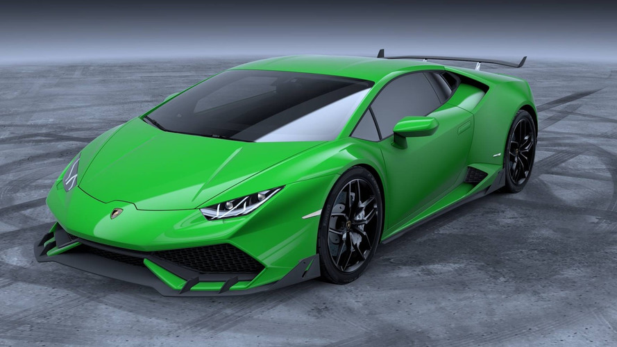 Lamborghini makes Huracan more aggressive with $22,484 aero kit