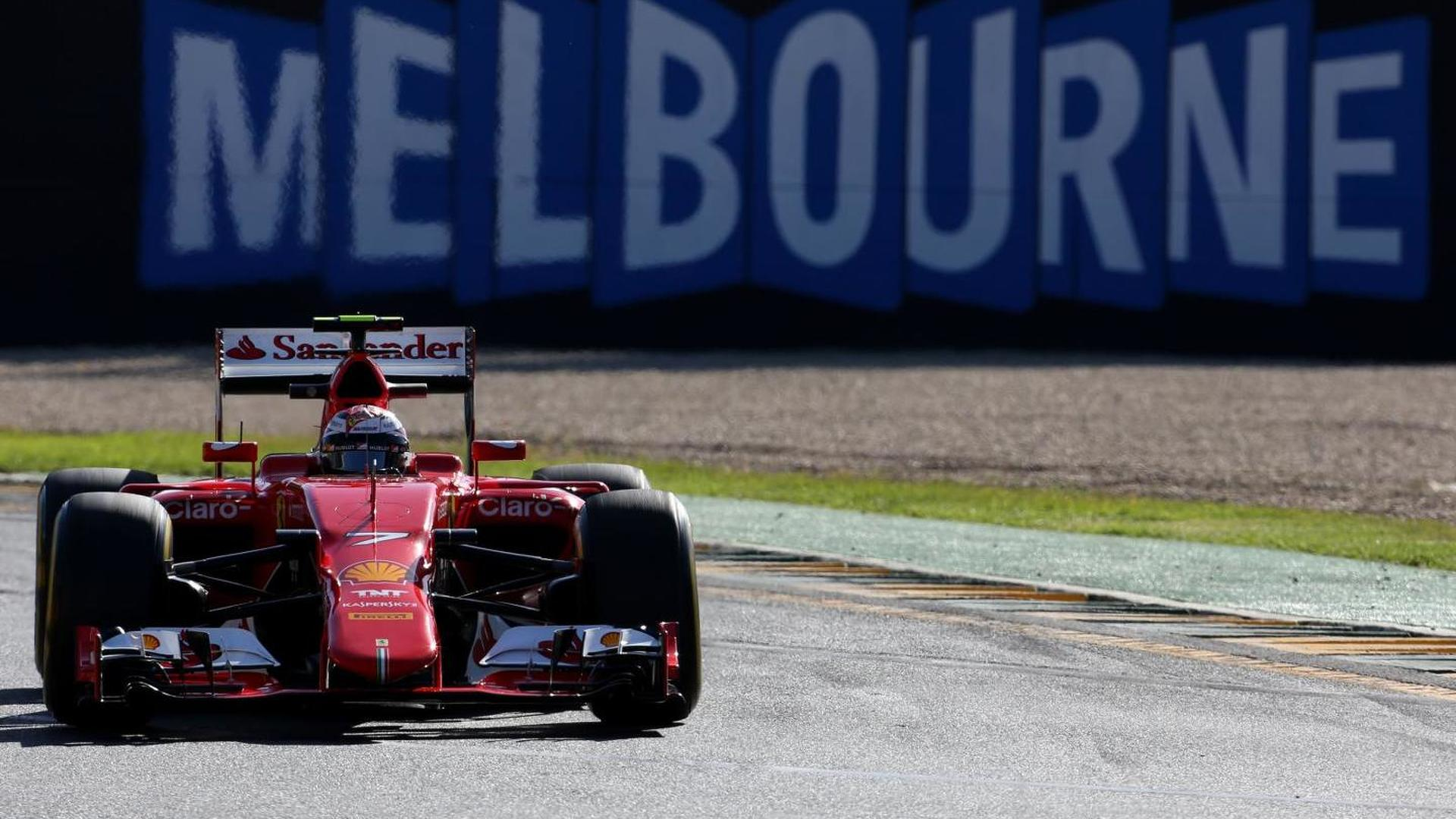 Race pace gap to Mercedes not huge - Raikkonen