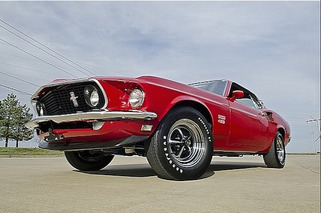 Ultra-Rare 1969 Ford Mustang Boss 429 Prototype Headed to Auction