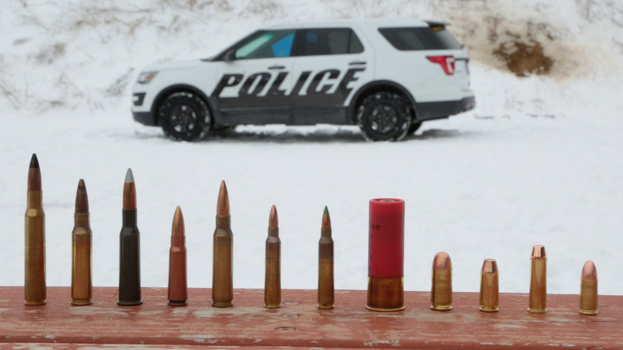 Ford Police Interceptor models to offer Type IV ballistic protection [video]
