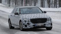 Mercedes E Class Maybach spy photo