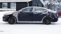 2016 Hyundai Elantra spied wearing full camo