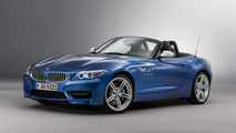 BMW Z4 in Estoril Blue metallic