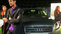 Coach Frank Rijkaard and his new Audi Q7